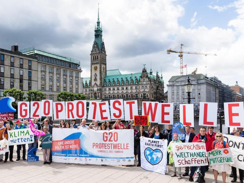 Hamburger Polizei genehmigt G20-Protestcamp – Schlafen vor Ort ist tabu