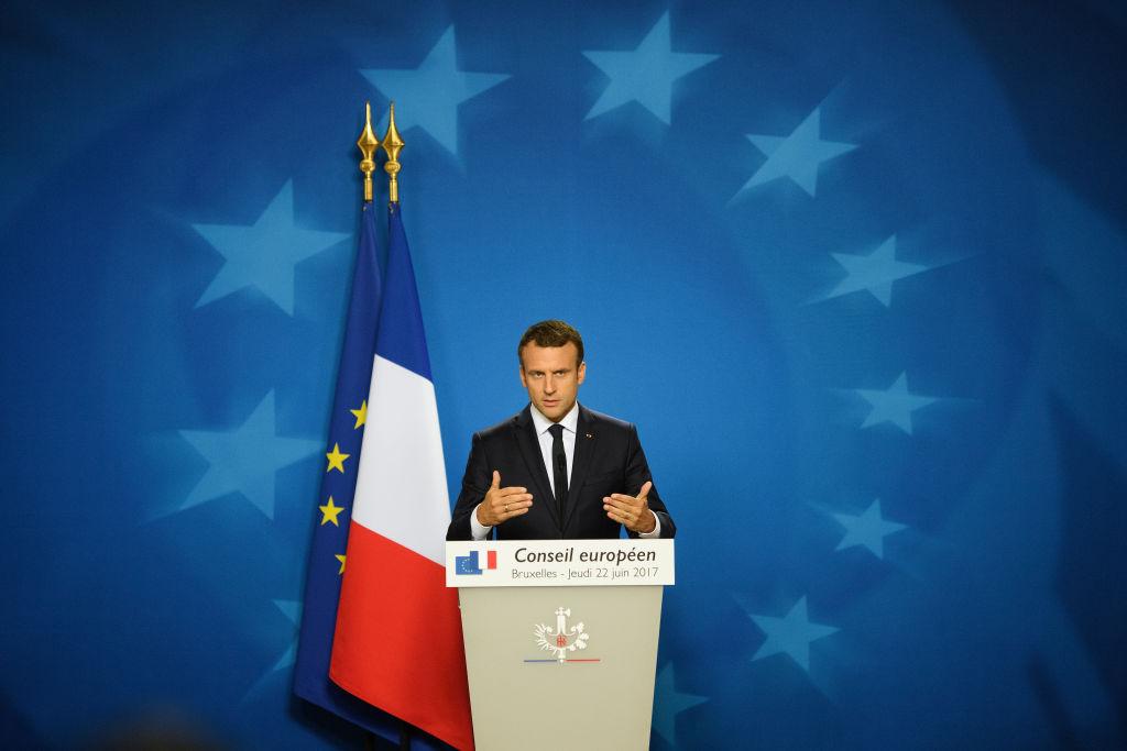 Frankreichs Präsident wirbt für eine Neugründung Europas