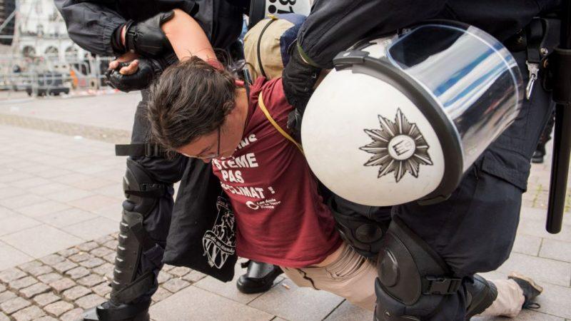 Verletzte Demonstranten G20