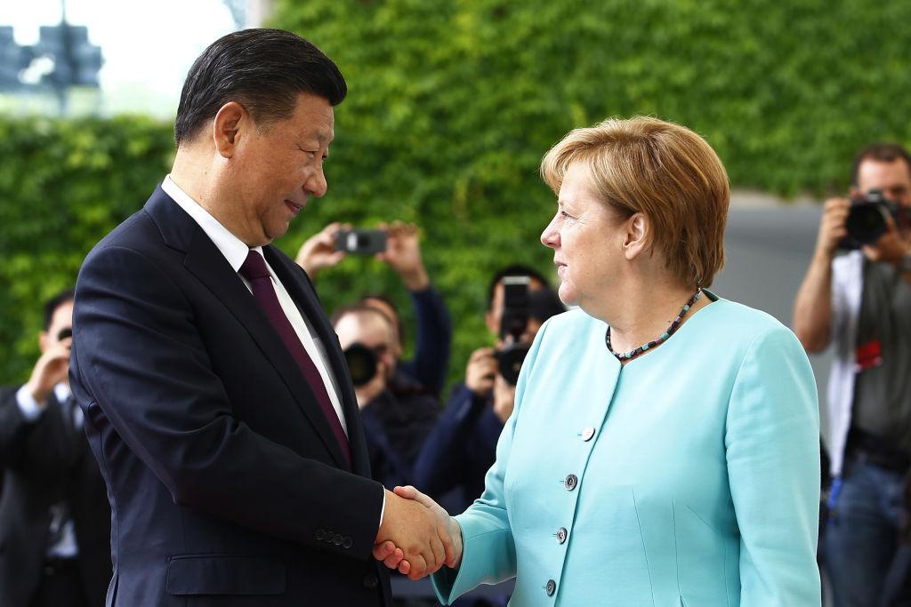Merkel trifft Xi Jinping, Juncker und Macron in Paris – Großauftrag für Airbus
