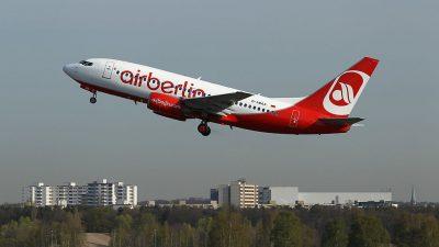 Airberlin ändert Check-in-Zeiten ab Dienstag