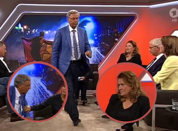 Maischberger-Statement nach Sendungs-Eklat – Bosbach verlässt Talk – Ditfurth: Grundrecht auf schwarze Kleidung in Hamburg gefährdet