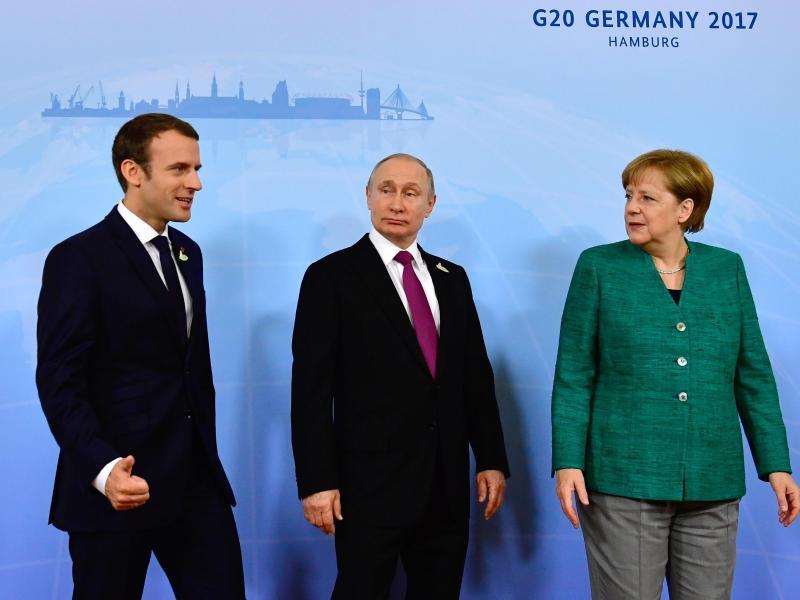 Deutsch-französischer Vorschlag für Gipfel mit Putin spaltet die EU