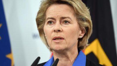 """Von der Leyen zu Hubschrauberabsturz: """"Der schwerste Moment in meiner gesamten Zeit als Ministerin"""""""