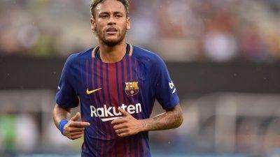 Bericht:Rekordwechsel von Neymar zu Paris steht kurz bevor