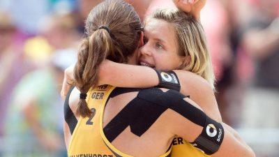 WM-Crashkurs im heißen Wien: Rio-Heldinnen wehren Attacke ab
