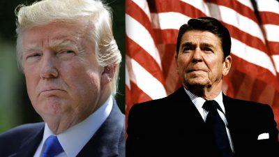 Warum Trump Nordkorea jetzt knallhart behandelt: Reagans Strategie der Stärke ist Vorbild