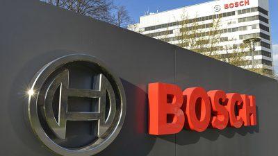 Bosch steckt 100 Millionen Euro in weiteres Werk in China