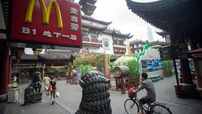 """""""Größter Markt außerhalb der USA"""": McDonald's will 2.000 neue  Filialen in China eröffnen"""