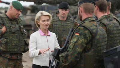 """Bundeswehr-General kontert Von der Leyen: """"Wehrmacht ignorieren"""" ist falsch"""