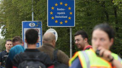 INSA-Umfrage: Deutsche wollen dauerhafte Grenzkontrollen – und Abschiebungen krimineller Ausländer