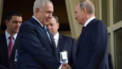 "Netanjahu droht Putin: Iran muss Syrien verlassen oder Israel ""wird handeln"""