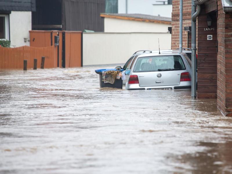 Silstedt Hochwasser