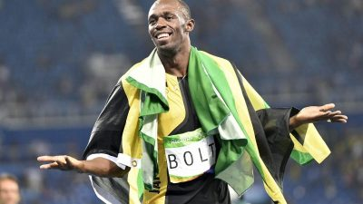 Supersprinter Bolt in 20 Zahlen