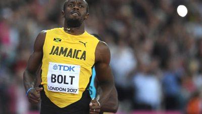 Mäßiger WM-Start von Bolt – Reus schon im Vorlauf raus