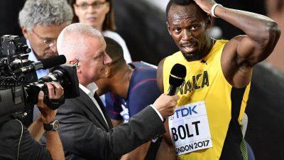 Supersprinter Bolt muss nach Stolperstart zulegen