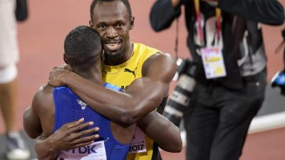 Gatlin schockt Bolt am «magischen Abend»