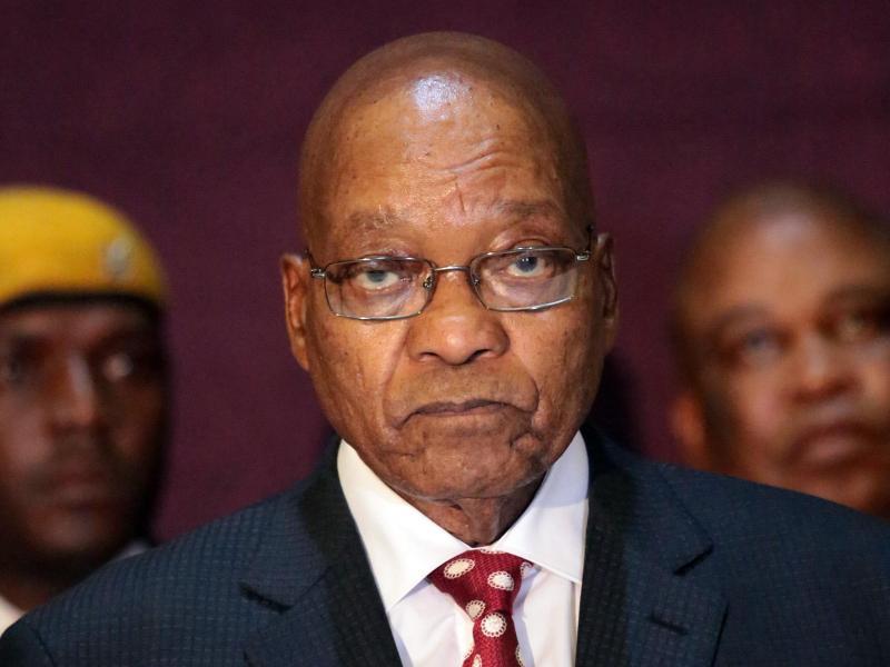 """""""Katz-und-Maus-Spiel"""" um Inhaftierung von Südafrikas Ex-Präsident Zuma"""