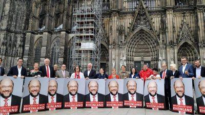 SPD kündigt härtere Gangart im Wahlkampf an: Kämpfen gegen Merkel