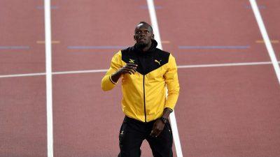 Supersprinter Bolt: «Ich komme nicht zurück»
