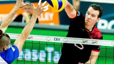 Deutsche Volleyballer im EM-Halbfinale