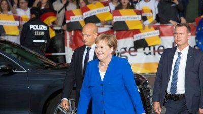 Infratest-Umfrage: Merkel gewinnt TV-Duell