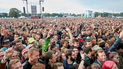 Gute Musik, Artisten – und Chaos beimLollapalooza Musikfestival in Berlin