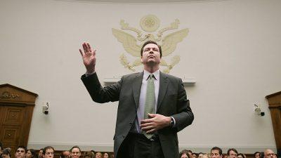Falschaussage und Presse-Leak: US-Justizministerium sollte Ex-FBI-Chef Comey anklagen, so Weißen-Haus-Sprecherin
