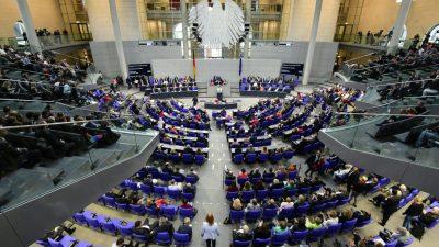 Wahlleiter gibt amtliches Endergebnis der Bundestagswahl bekannt – Union 32,9- SPD 20,5- AfD 12,6 Prozent