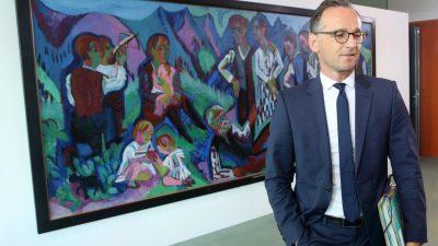"""""""Wir dürfen unseren Rechtsstaat nicht kaputtsparen"""": Maas fordert mehr Richter und Staatsanwälte"""