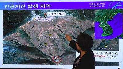 """China: Nordkoreas Atomtest-Berg vor Einsturz – """"Radioaktivität bedroht mehrere Länder"""""""