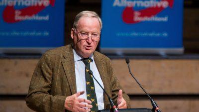 """Gauland: """"Wenn die CDU wieder konservativer würde, wäre das ein vernünftiges Teilergebnis"""""""