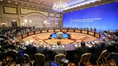 Russland schlägt große Syrien-Konferenz mit mehr als 30 Beteiligten vor