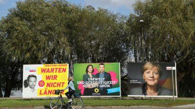 Bundestagswahl: Bürger für Wahlprognosen-Sperrfrist – Umfragen lenken von politischen Inhalten ab und beeinflussen Wähler
