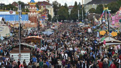"""O'zapft is"": 184. Oktoberfest in München eröffnet"