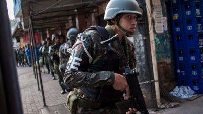 Brasilianischer Gouverneur setzt Scharfschützen gegen schwer bewaffnete Kriminelle ein