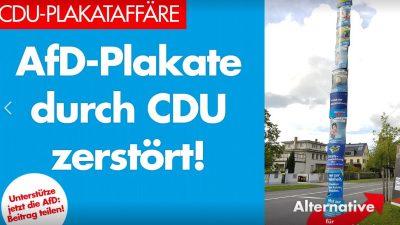 """Lahnstein: CDU fordert Unterlassungserklärung von AfD – Es wurden keine Plakate """"zerstört"""""""