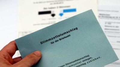 Ex-Verfassungsrichter Papier warnt vor Risiken der Briefwahl