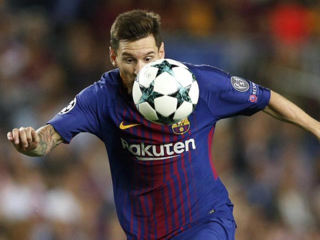 Barcelonas Star Lionel Messi erzielte das 1:0 gegen Juventus Turin. Foto: Francisco Seco/dpa
