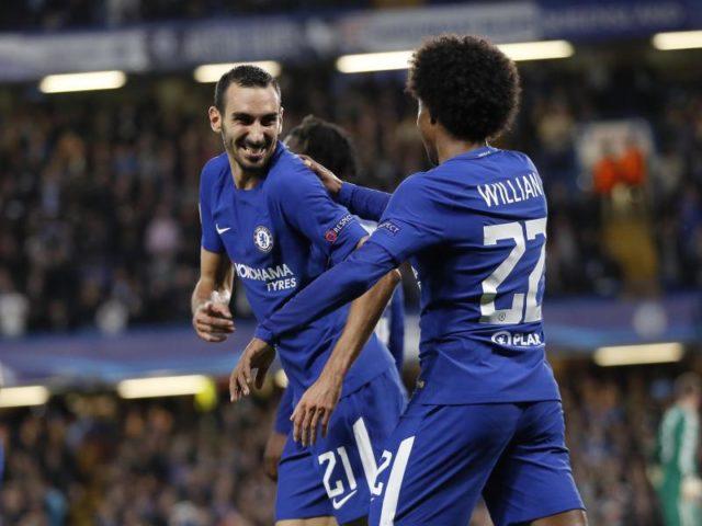 Der FC Chelsea hatte mit FK Qarabag Agdam keinerlei Probleme. Foto: Kirsty Wigglesworth/dpa