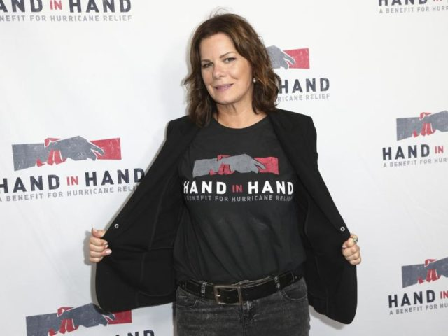 Marcia Gay Harden setzte sich auch für die Wirbelsturm-Opfer ein. Foto: John Salangsang/Invision/dpa