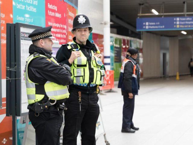 Polizisten bewachen die London Bridge Station. Foto: Vickie Flores/dpa