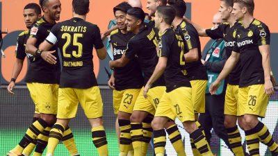 Dortmund festigt Spitzenposition in der Fußball-Bundesliga