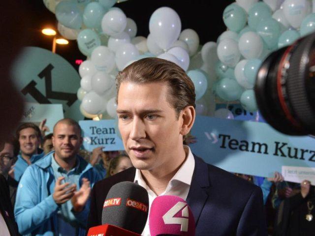 ÖVP-Chef Sebastian Kurz führt in Umfragen deutlich vor Bundeskanzler Christian Kern. Foto: Herbert Pfarrhofer/dpa