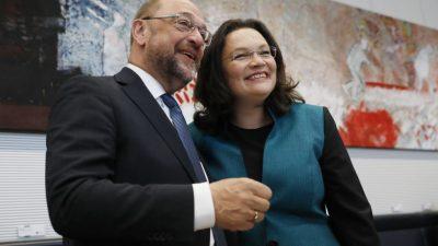 Wie geht es mit der SPD weiter? Andrea Nahles will nicht den Chef-Posten übernehmen