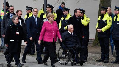 Wittenberg: Angela Merkel betont Wert von Meinungsvielfalt