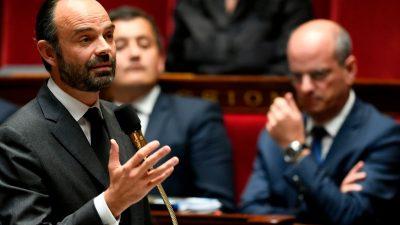 Frankreichs Konservative schließen Premierminister Philippe aus Partei aus