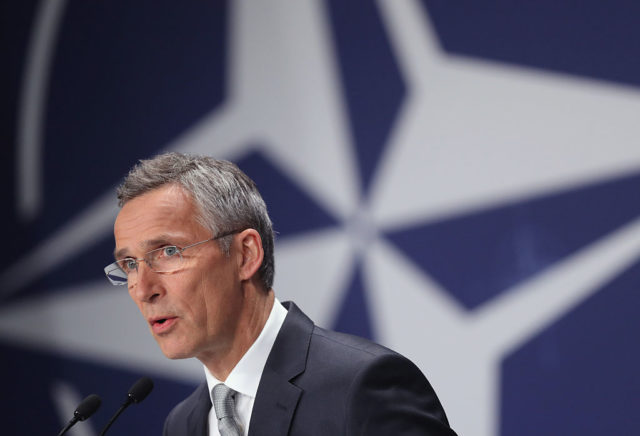 Nato-Generalsekretär: Russland muss internationales Recht respektieren