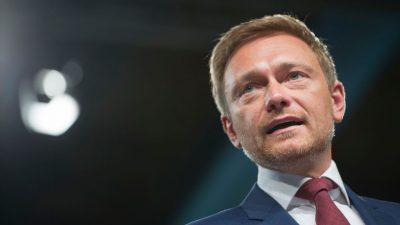 """FDP beharrt auf Aus für den Soli und kritisiert """"Theaterdonner"""" der Grünen"""