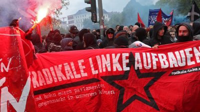 """Linksradikale wollen provozieren – """"Revolutionäre-1.Mai-Demo"""" wieder nicht angemeldet"""